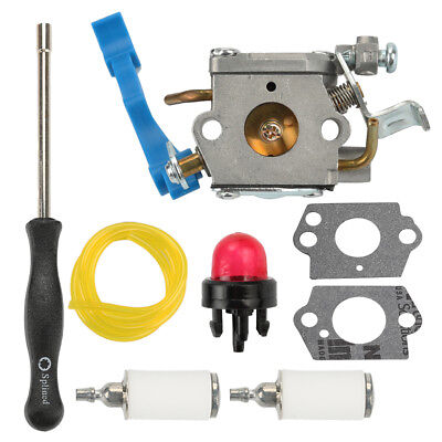 Carburetor Carb & Fuel Line Kit For Husqvarna 125B 125BVX 125BX Rep Zama C1Q-W37 for sale  USA