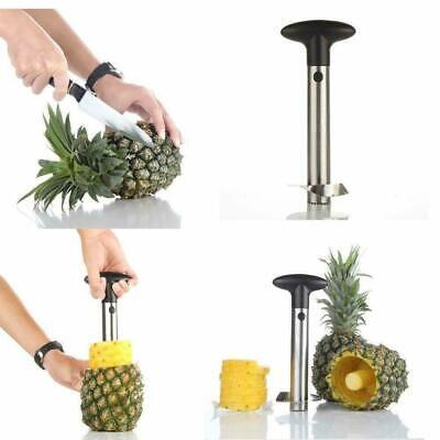 Stainless Steel Pineapple Corer Slicer Peeler for Diced Fruit Rings All in One