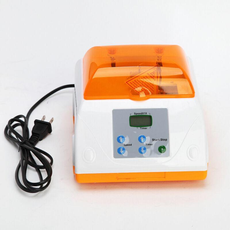 Dental Digital HL-AH High Speed Amalgamator Amalgam Capsule Mixer Orange Device