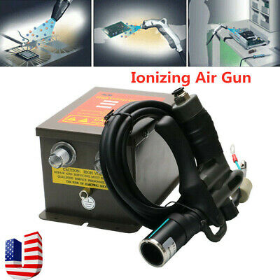 Ion Air Wind Gun Electrostatic Elimination Eliminator High Voltage Power Supply