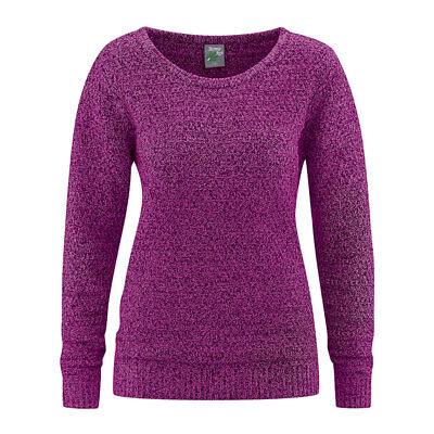 HempAge Damen Pullover grob gestrickt Hanf/Bio-Baumwolle