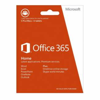 Microsoft Office 365 Home, MS, O365