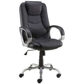 Leather Executive Chair Black - The Staples® Darcy