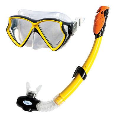 INTEX Tauch Set Silicon Aviator Pro Tauchmaske Taucherbrille + Schnorchel