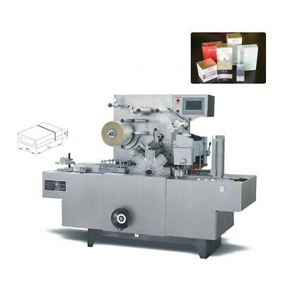 Automatic Transparent Film Three-dimensional Packaging Machine Cosmetic Box Wrap