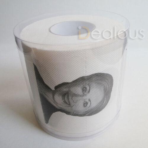 One ROLL Lock Her Up Hillary Clinton Toilet Tissue Paper Novelty Joke Humor