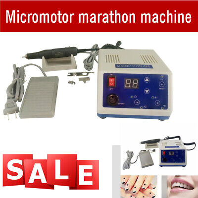 Dental Lab Marathon Polishing Machine Micromotor N4 For Jewelry Nail Engraving