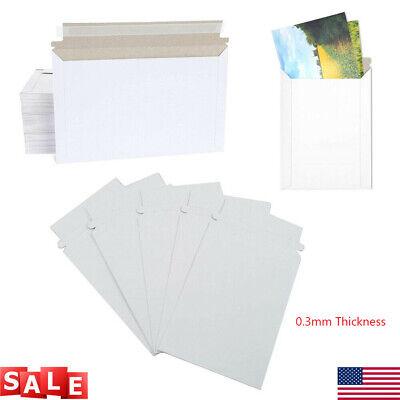 50100pcs 9x11.5 6x8 6.5x4.5 Rigid Photo Mailers Envelopes Flat Document