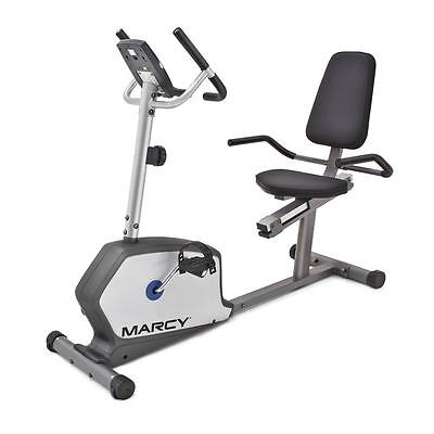 Marcy Recumbent Bike | NS-1201R Home Magnetic Stationary Cardio Exercise Machine