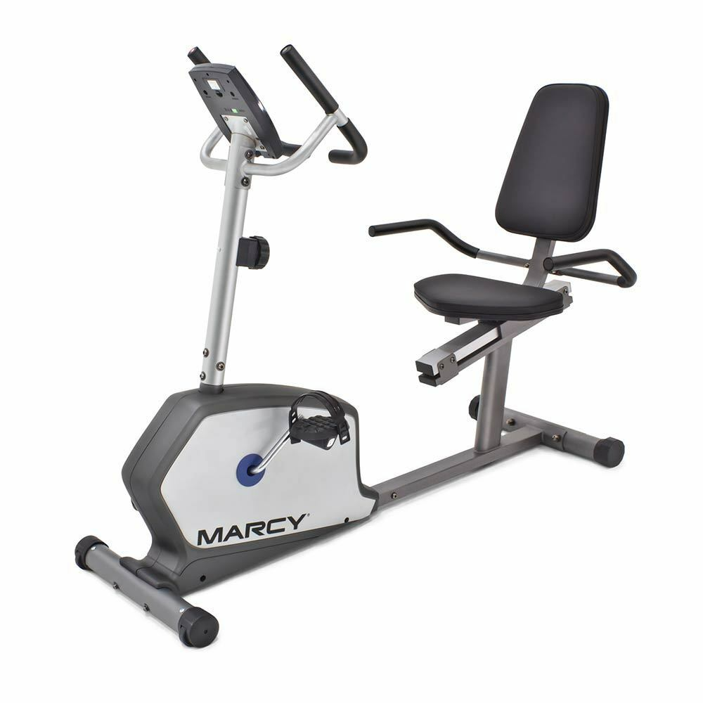 Details about Marcy Recumbent Bike | NS-1201R Home Magnetic Stationary  Cardio Exercise Machine