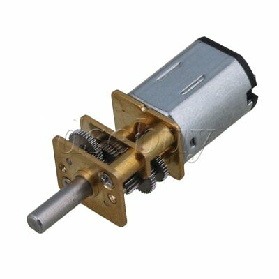 Dc 6v 10rpm Mini Electric Gear Motor Gearwheel 3mm Shaft Box Motor