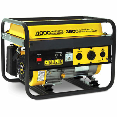 Champion 46533 - 3500 Watt Portable Generator w/ RV Outlet