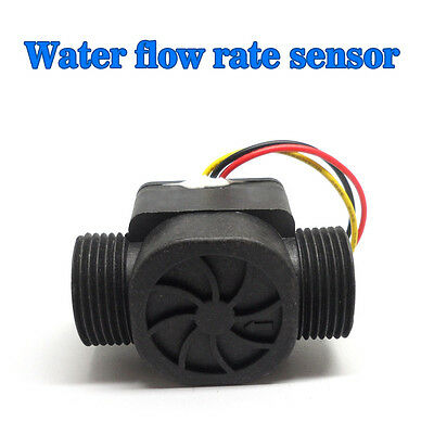 Usa Flowmeter Gas Water Heater Water Flow Sensor Fluid Flowmeter Switch