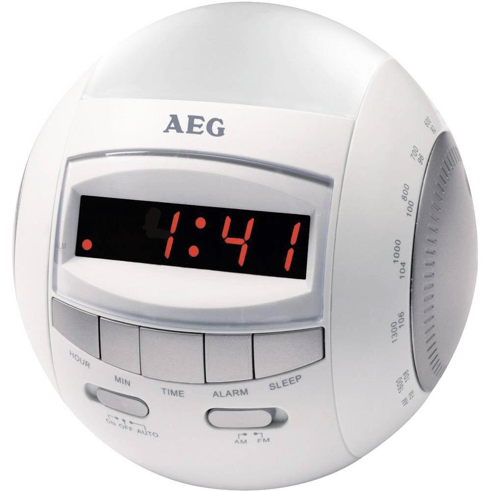 Wecker Radio Uhrenradio mit LED Nachtlicht AEG MRC 4109 Nightlight