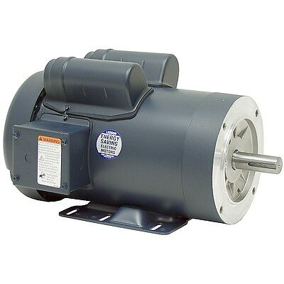 Leeson Electric Motor 115048.00 3 Hp 3450 Rpm 1ph 208-230 Volt 56hc Frame