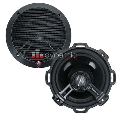 """5.25/"""" Car Audio Speakers.Pair.4ohm.5-1//4/"""".Basic Replacements.Dash Stereo 2 NEW"""