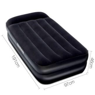 Bestway Comfort Quest Premium Air Bed w/ Electric Air Pump Single