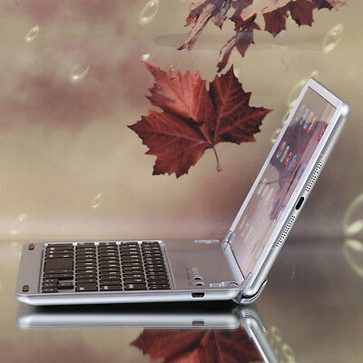 Luxury Aluminum Metal Bluetooth Keyboard Case Cover Dock For iPad Mini 1/2/3/4