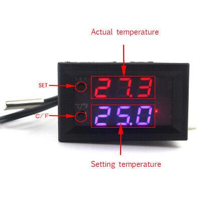 Digital Led Microcomputer Thermostat Controller Switch Temperature Sensor