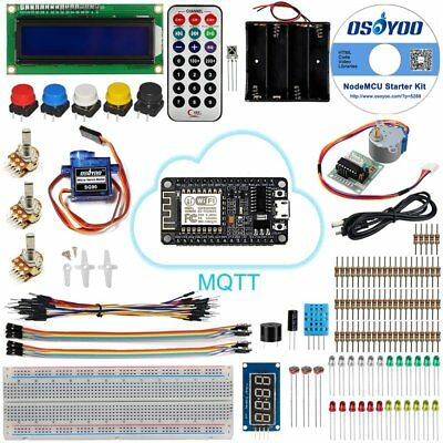 Us Nodemcu Iot Starter Kit Esp8266 Tutorial Mqtt Broker Programming Learning