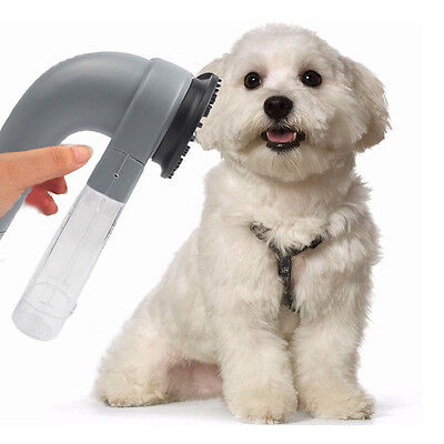 Electric Pet Hair Remover Dog Cat Grooming Vacuum System Clean Unhairing USA