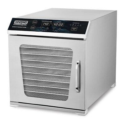 Waring Wdh10 Single Zone Dehydrator W 10 Racks - Stainless 120v