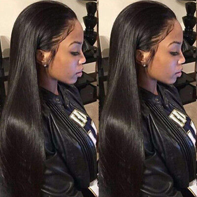 Long Straight Black Wigs for woman Synthetic Wig Heat Resistant - Women's Wigs