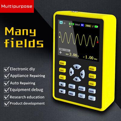5012h Handheld Portable Ips Lcd Digital Mini Oscilloscope 100mhz 500msas T3r0