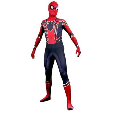 Adult Kids Avengers Infinity War Iron Spiderman Superhero Cosplay Costume Outfit](Avengers Outfit)