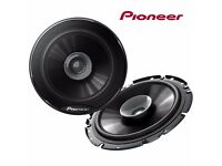 "Pioneer TS-G1731i 230 Watt 17cm 6.5"" Inch Car Speakers 2 way Shallow mount 43mm for Doors Shelf Boat"
