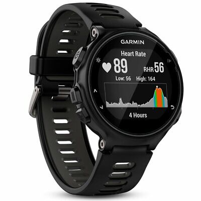 Garmin Forerunner 735XT Multi-Sport Running GPS Smart Watch - Black Strap