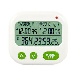New Searon Digital 1999 Days Countdown Timer with Alarm Clock Event Reminder Day