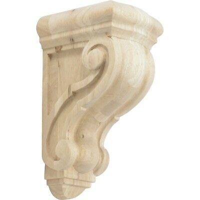Rubberwood Decorative Wood Corbel Countertop Support 5-5/8