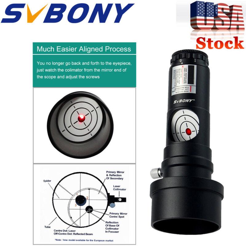 "SVBONY 1.25""Next Generation Laser Collimator  Adapter for Newtonian Telescope US"