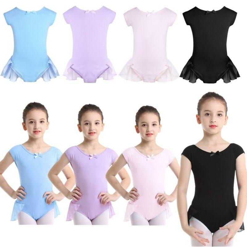 Toddler Kid Straps Ballet Dance Leotard Cotton Girls Children/'s Leotard Unitards