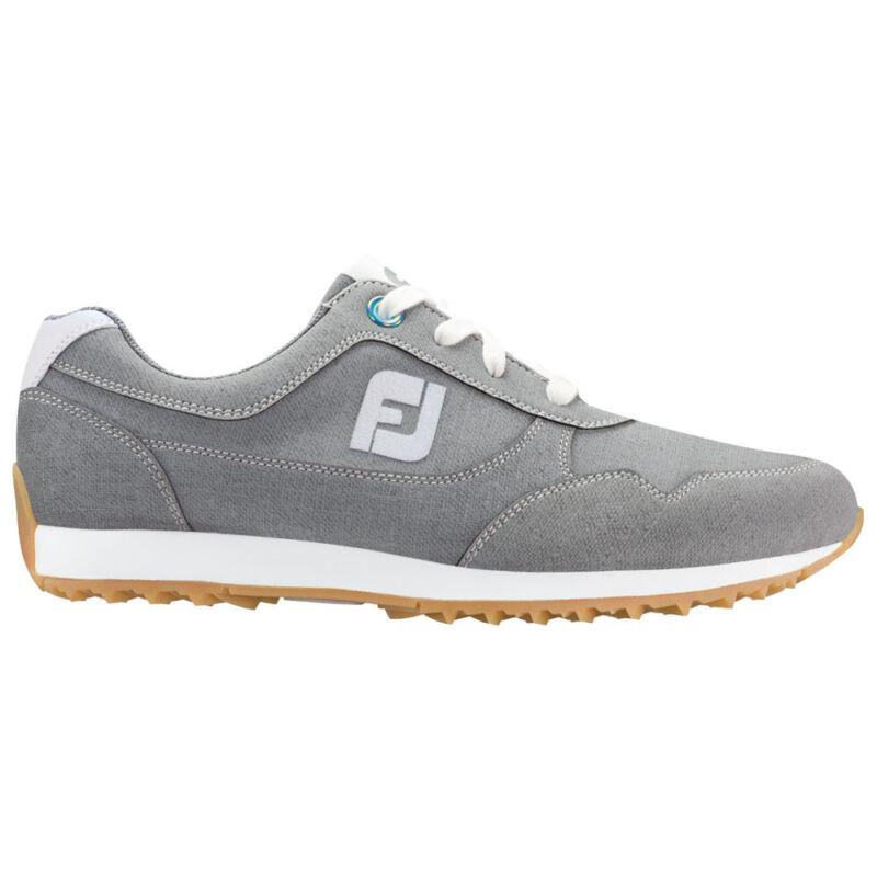 FootJoy Ladies Sport Retro Spikeless Golf Shoes - Grey