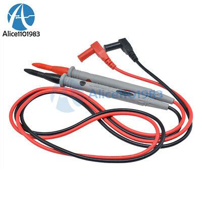 Universal Digital Multimeter Multimeter Test Lead Probe Wire Pen Cable 1000v 10a