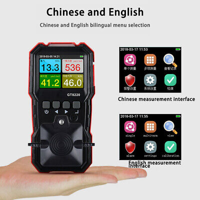 Multi Gas Detector Monitor 4 In 1 O2 H2s Co Combustible Gas Meter High-quality
