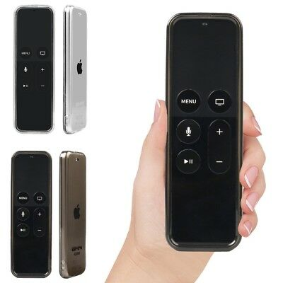 Full Protective Silicone Cover Case for Apple TV 4th Gen Siri Remote Controller