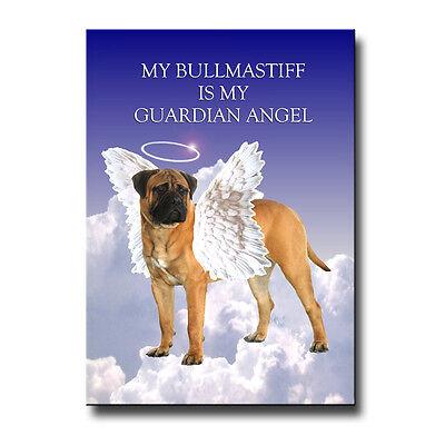 BULLMASTIFF Guardian Angel FRIDGE MAGNET No 1 DOG