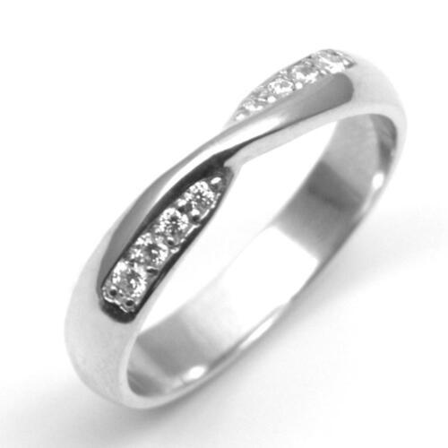 Details About Grain Set Twist Diamond Wedding Band Platinum 18ct 9ct Gold Uk Hallmarked 145