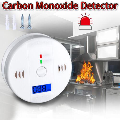 Wireless CO Carbon Monoxide Detector Security Voice Alert Lo