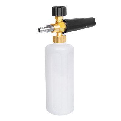 Adjustable 14 Spray Snow Foam Lance Cannon Pressure Washer Car Wash Gun Jet 1l