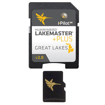 HUMMINBIRD LAKEMASTER PLUS CHART - GREAT LAKES EDITION