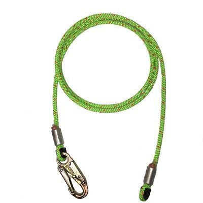 Rope Logics 12in Wirecore Flipline W Steel Snap 10ft Arborist Rigging