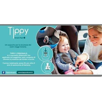TIPPY DIGICOM DISPOSITIVO - SENSORE ANTI-ABBANDONO per seggiolino auto con App