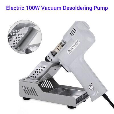 Electric 110v 100w Vacuum Desoldering Pump Solder Gun Heating Core Aluminum Tin
