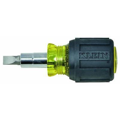 Klein Tools Stubby Multi-Bit Screwdriver/Nut Driver - 3.2 Le