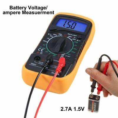 Digital Multimeter Xl-830l Lcd Current And Voltage Ohmmeter Ohm Volt Tester Hot