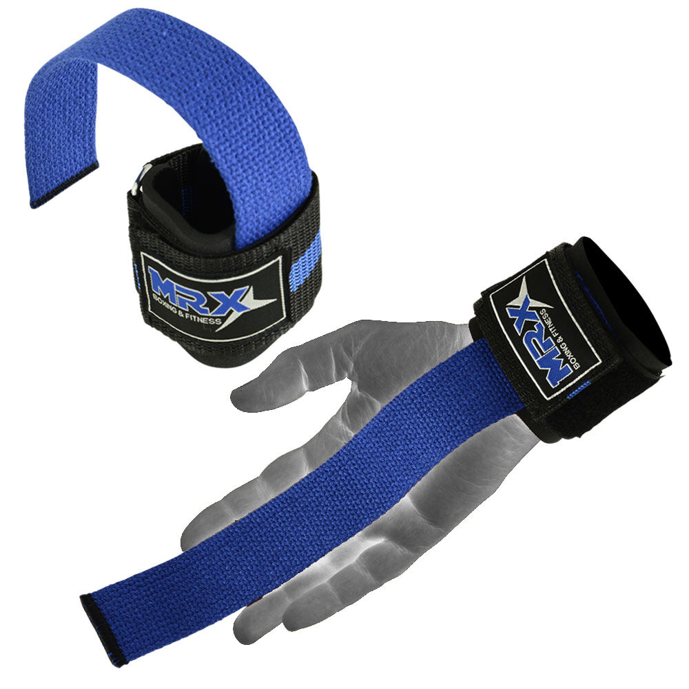 Weight Lifting Wrist Wraps Bandage Support Gloves Gym: Weightlifting Bar Straps Gym Bodybuilding Wraps Wrist